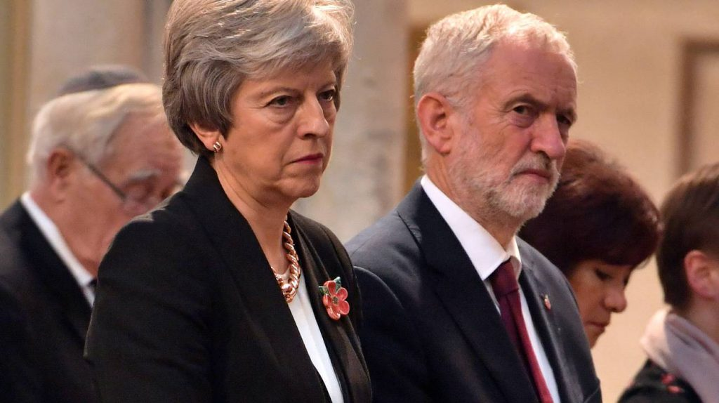 Brexit: May e Corbyn